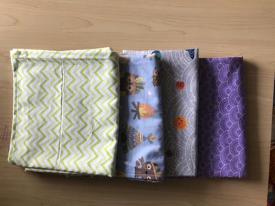 West Coast Dipes Blanket/Burp Set