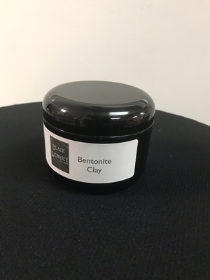 Black Licorice Bentonite Clay