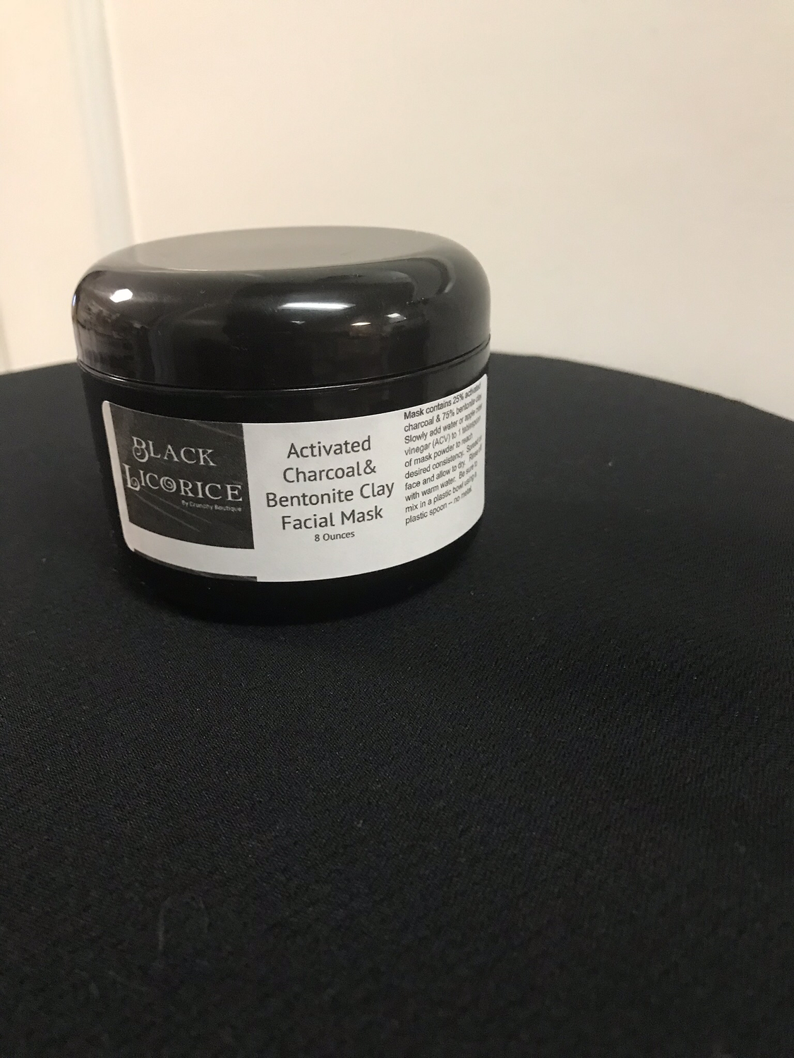 Black Licorice Charcoal & Clay Mask