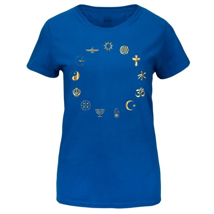 Equality Secular Symbols Women's Basic T-shirt Medium 00000