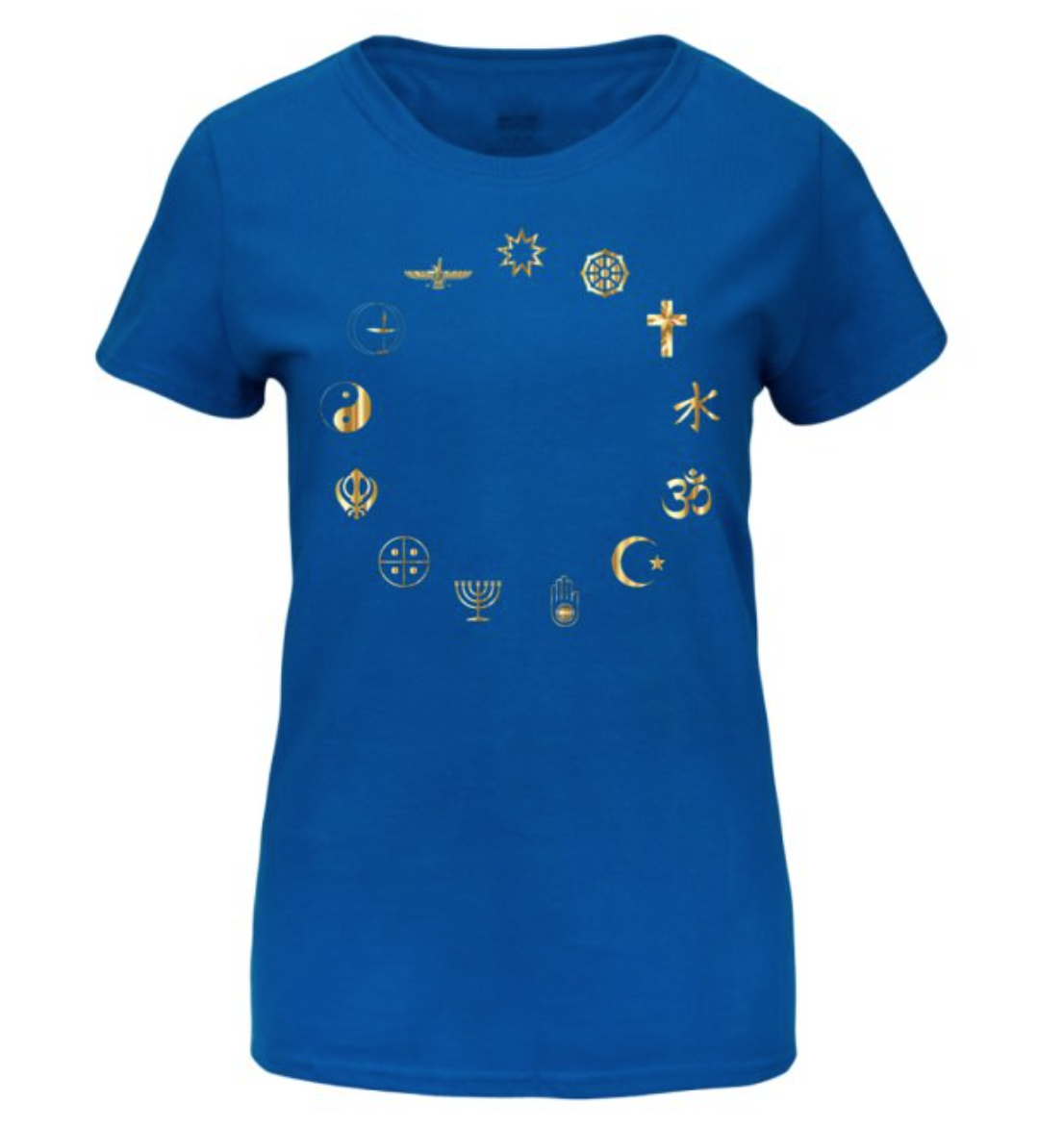 Equality Secular Symbols Women's Basic T-Shirt Large