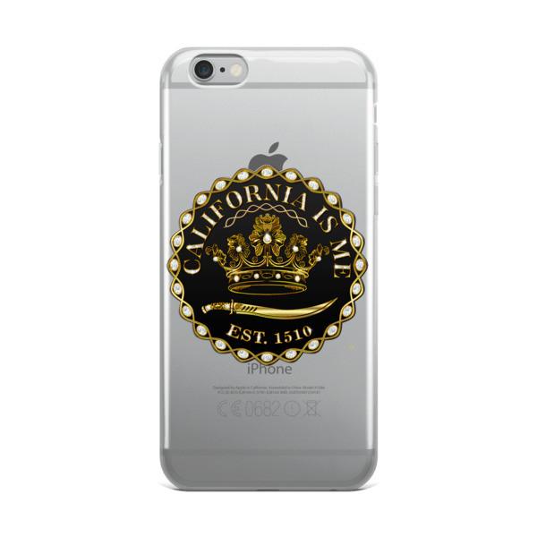 CALIFORNIA IS ME EST. 1510 SUPER iPhone Case