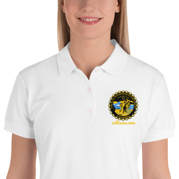 Premium Super Polo Embroidered CALIFORNIA IS ME EST. 1510 Shirt