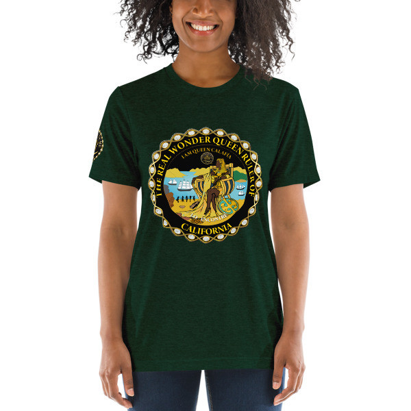 I AM QUEEN CALAFIA UNISEX t-shirt CALIFORNIA IS ME EST. 1510