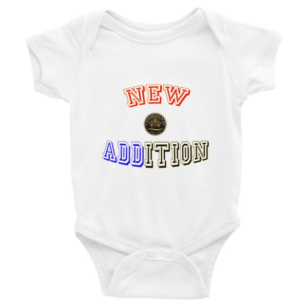 New Addition Super Baby Bodysuit CALIFORNIA IS ME EST. 1510