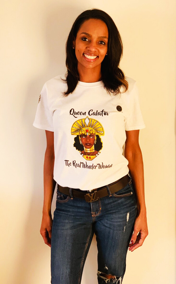 Queen Calafia - The Real Wonder Woman Unisex T-Shirt