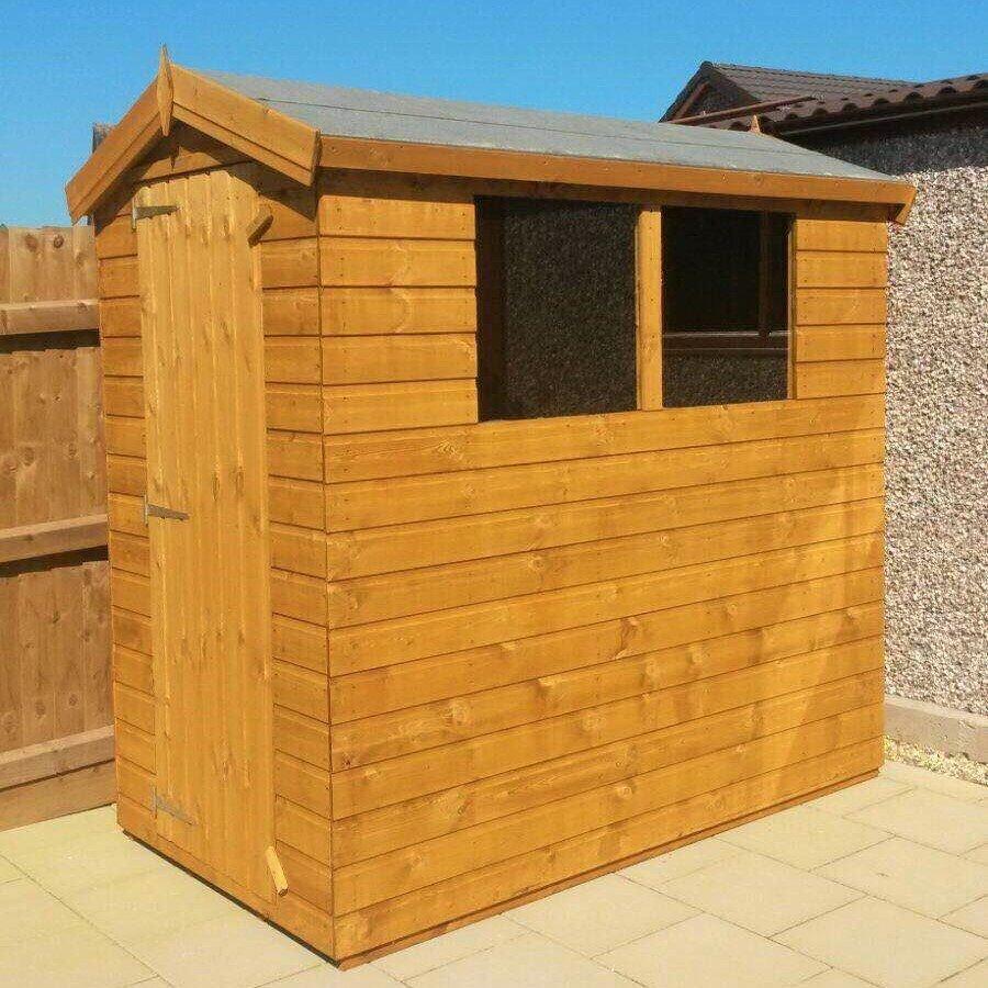 6x4 standard garden shed
