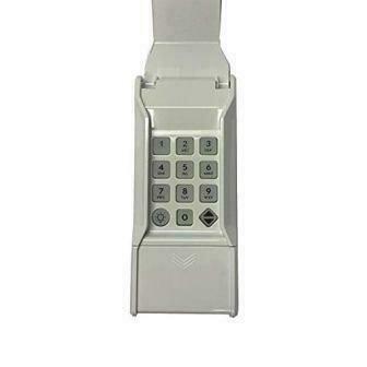 Linear Garage Door Opener Wireless Keypad LPWKP - Gray