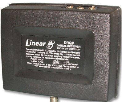 Linear Delta 3 DRQP One Gate Operator Receiver