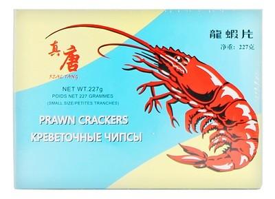 Чипсы креветочные (prawn crackers), РЕАЛ ТАНГ, пачка 227г/60