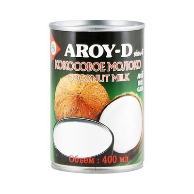 Кокосовое молоко, жирность 18,5%, АРОЙ Д, жесть 400мл