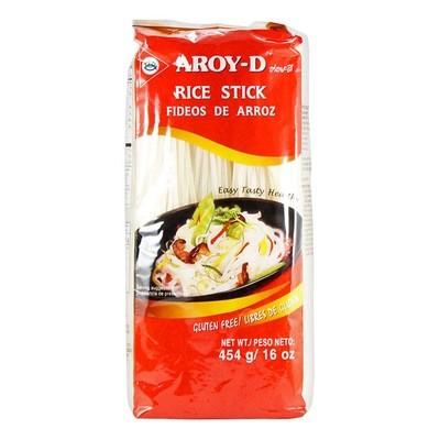 Лапша рисовая средняя 3мм, АРОЙ Д, пакет 454г