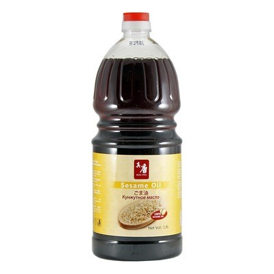 Масло кунжутное темное, РЕАЛ ТАНГ, пластик 1,8л