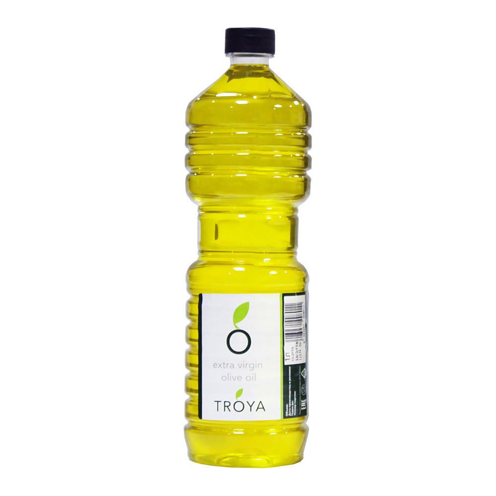 Масло оливковое Extra Virgin ТРОЯ пластик 1л