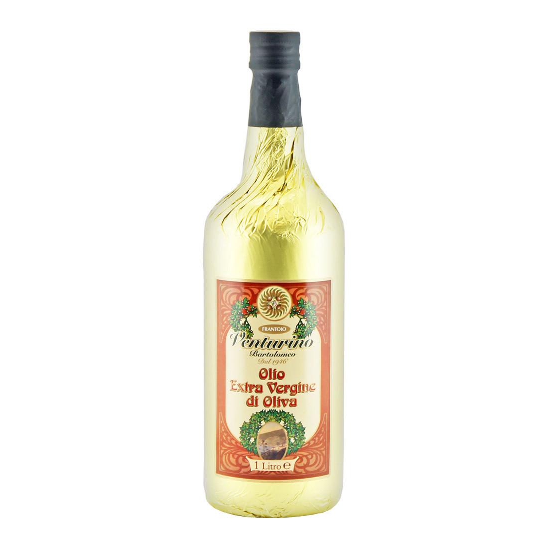 Масло оливковое э/в Либерти Модерн ВЕНТУРИНО фольга золотая 1л