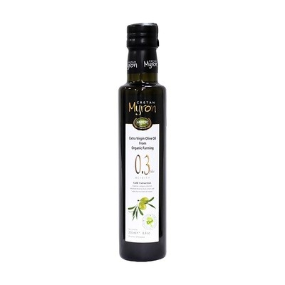 Масло оливковое э/в Био (органик), МИРОН КРИТАН, 250мл