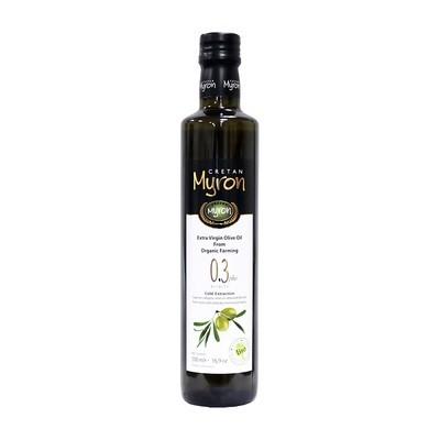 Масло оливковое э/в Био (органик), МИРОН КРИТАН, 500мл