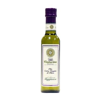 Масло оливковое э/в из оливок Таджиаски, ВЕНТУРИНО, 250мл