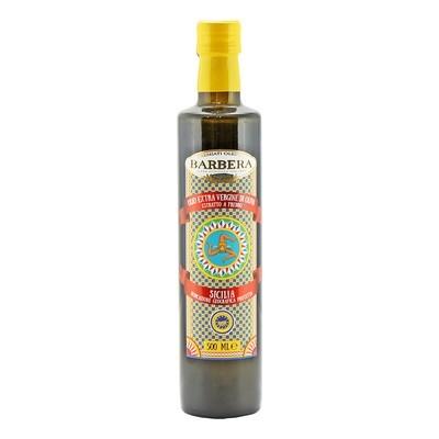 Масло оливковое э/в Сицилия I.G.P БАРБЕРА  стекло 500мл