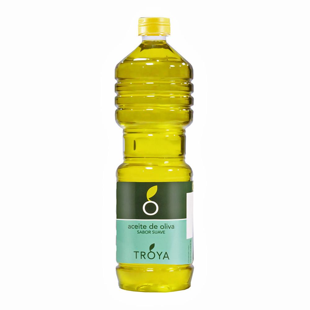 Масло оливковое рафинированное, ТРОЯ (Испания), пластик 1л