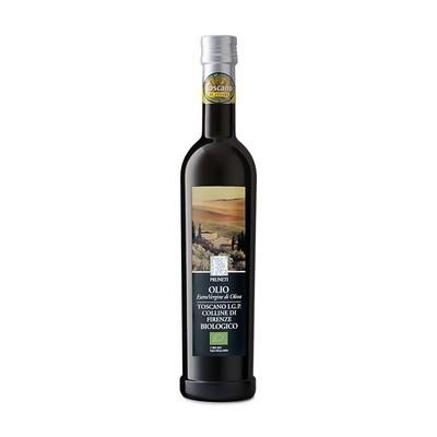 Масло оливковое э/в Тоскана I.G.P. Био (органик), ПРУНЕТИ, 500мл