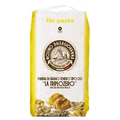 Мука для свежей пасты, La Triplozero-000, мешок 5кг