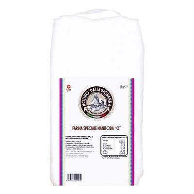 Мука манитоба W-390 Manitoba-0, мешок 5кг