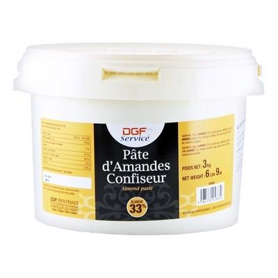 Марципановая паста белая (33% миндаль), СЕРВИС, ведро 3кг