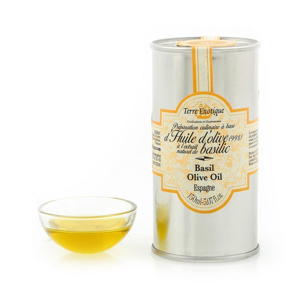 Масло оливковое с базиликом, ТЕРРЕ ЭКЗОТИК, 150мл