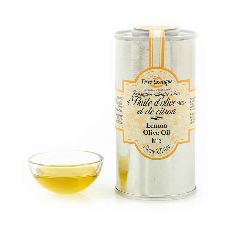 Масло оливковое с лимоном, ТЕРРЕ ЭКЗОТИК, 150мл