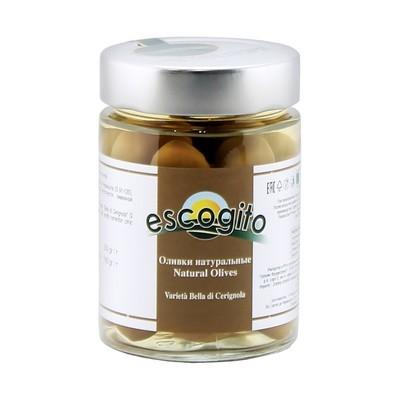 Оливки белла натуральные с/к (калибр 91-120) ЭСКОДЖИТО, стекло 350г