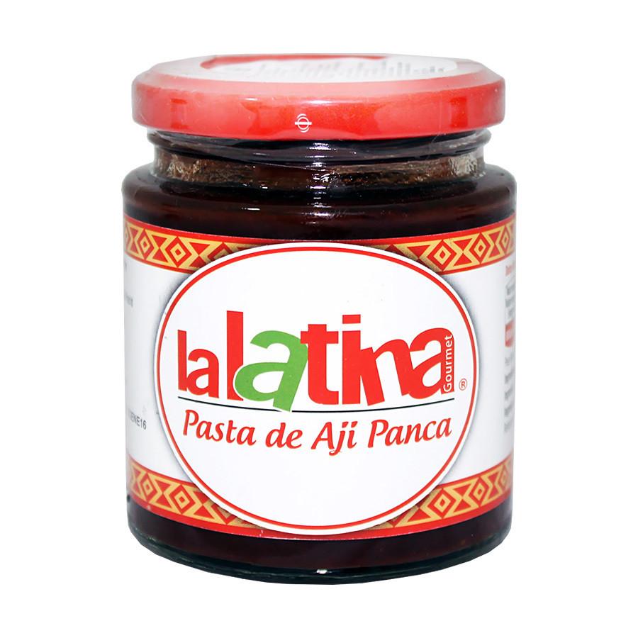 Паста из перца ахи панка красная (aji pancа), ЛА ЛАТИНА, стекло 225г