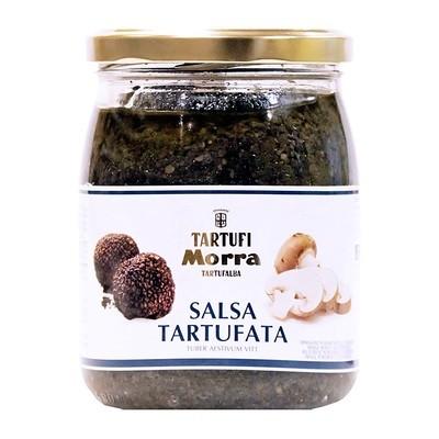 Соус Тартуфата, черный трюфель (8%) ТАРТУФИ МОРРА, 500г