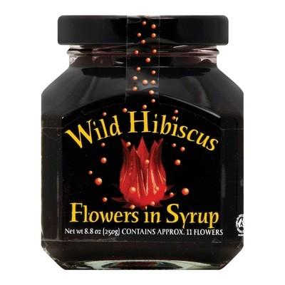 Цветы гибискуса в сиропе, ВАЙЛД ГИБИСКУС, 250г (10-11 цветков)