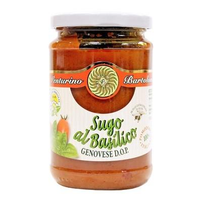 Соус томатный с генуэзским базиликом DOP, ВЕНТУРИНО, 290г