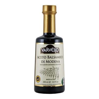Уксус бальзамический I.G.P. золотая серия ВАРВЕЛЛО, конусная бутылка 250мл