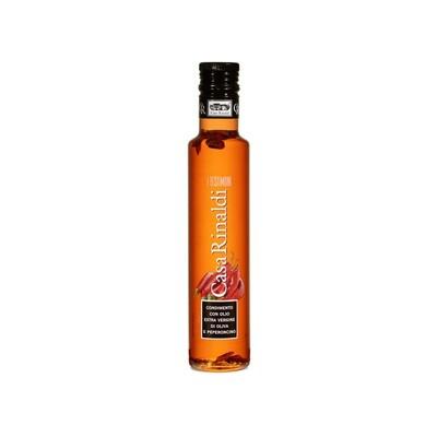 Масло оливковое э/в с пеперончино, КАСА РИНАЛЬДИ, 250мл