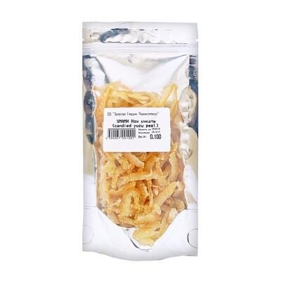 Юзу цукаты (candied yuzu peel), УМАМИ, сашет 100г