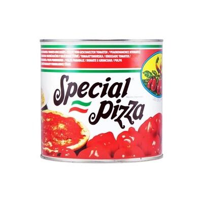 Томаты измельченные (polpa di pomodoro), СТЕРИЛТОМ, ж/б 2,5кг