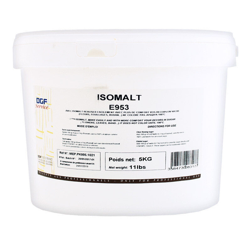 Изомальт Е953 (сахарные хлопья), СЕРВИС, ведро 5кг