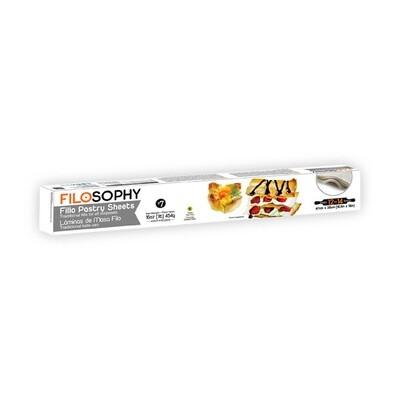 Тесто Филло для всех видов выпечки 50*37см, ФИЛОСОФИ, 500г
