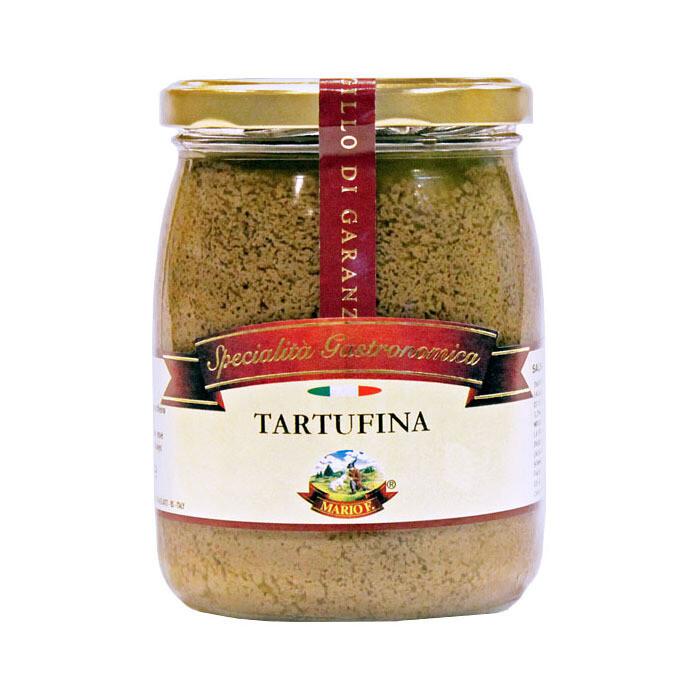 Соус Тартуфина, черный трюфель (1,5%) с шампиньонами, МАРИО ФЕРРАРИ, 500г