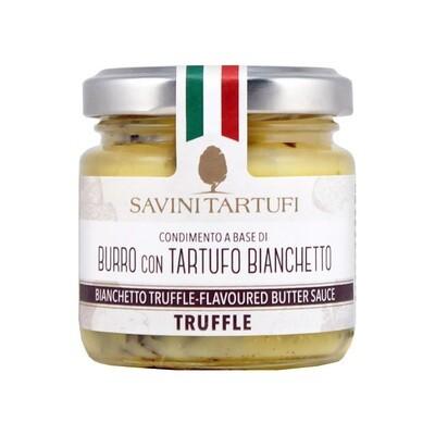 Масло сливочное, с трюфелем бьянчетто, САВИНИ ТАРТУФИ, 80г