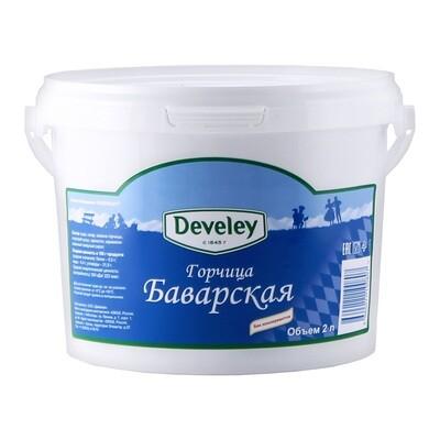 Горчица баварская сладкая, ДЕВЕЛЕЙ, ведро 2кг