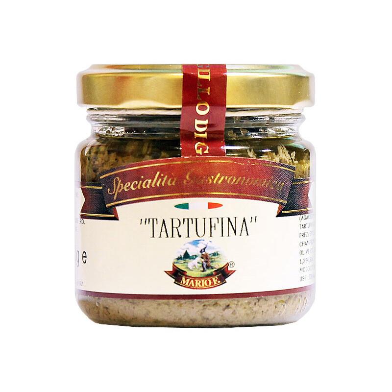 Соус Тартуфина, шампиньоны с черным трюфелем (1,5%), МАРИО ФЕРРАРИ, 80г