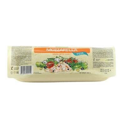 Сыр Моццарелла для пиццы, (жирн. 40%), БОНФЕСТО, 1кг