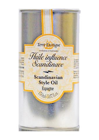 Масло оливковое с ароматом Скандинавия, жесть, 150мл/6