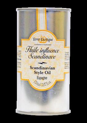 Масло оливковое с ароматом Скандинавия, ТЕРРЕ ЭКЗОТИК, жесть 150мл