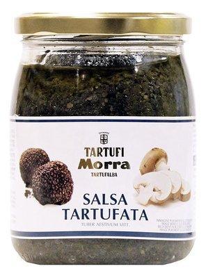Соус Тартуфата, черный трюфель (8%) с шампиньонами, ТАРТУФИ МОРРА, стекло, 500г/6