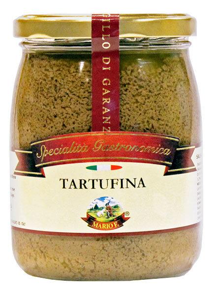 Соус Тартуфина, черный трюфель (1,5%) с шампиньонами, МАРИО ФЕРРАРИ, стекло 500 г